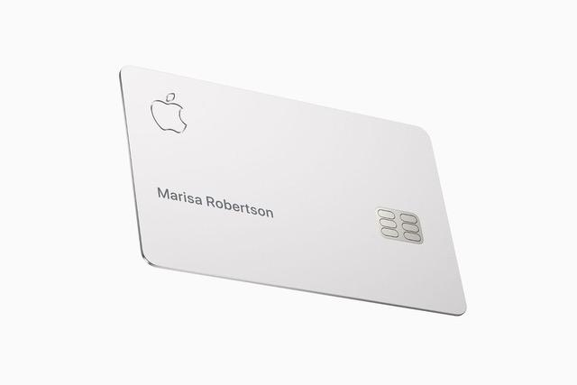 Tarjeta de crédito Apple física