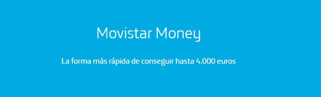 Préstamos personales Movistar Money