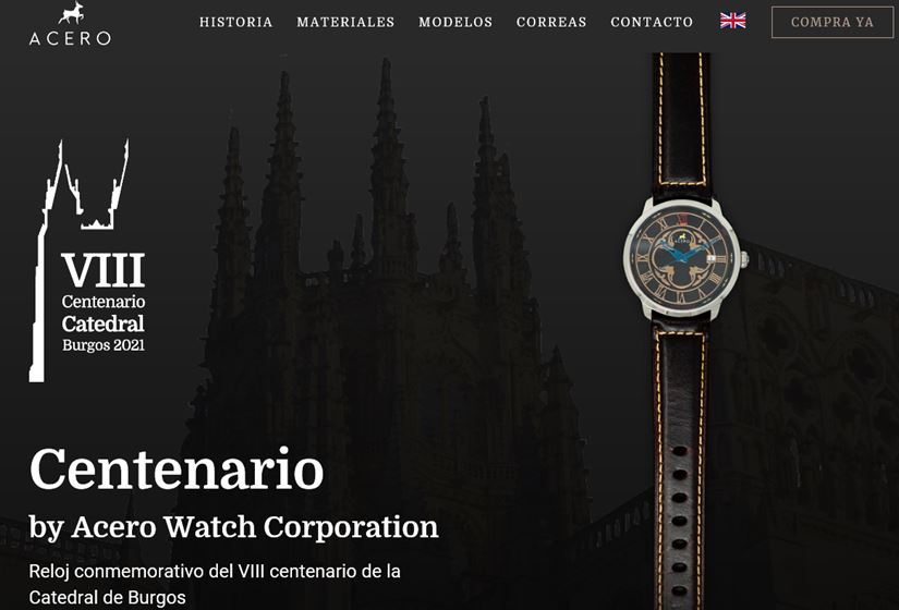 Centenario by Acero Watch Corporation